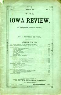 The Iowa Review: an independent political journal, Volume I, No. 5