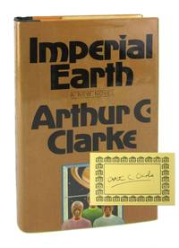 Imperial Earth Signed Bookplate Laid in