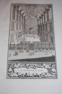 La Chapelle du Pape. [Ceremonies et coutumes religieuses].