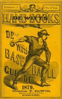 Collection of 8 De Witt's Base-Ball Guides