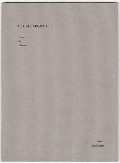 Stout, OH: Bloody Twin Press, (1989). First Edition. Wraps. Near fine/near fine. 8vo. Sewn stiff pic...