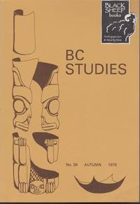 BC Studies, No. 39,  Autumn 1978
