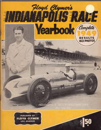 Floyd Clymer's Indianapolis Race Yearbook Complete 1949 Results, 160 Photos