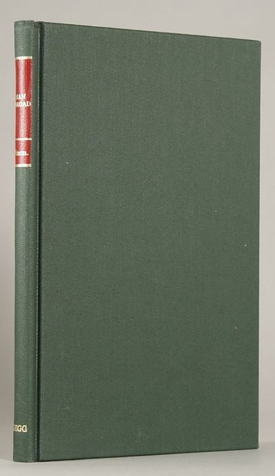 Boston: Gregg Press, 1976. Octavo, cloth. First hardcover edition, first printing. Reset from the ra...