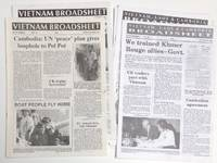 image of Vietnam Broadsheet (new series) [Later the Vietnam, Laos and Cambodia Broadsheet]. Eight issues