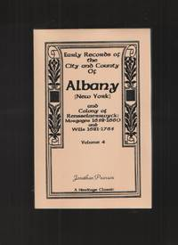 Early Records of the City and County of Albany [New York] and Colony of  Rensselaerswyck by  Jonathan Pearson - Paperback - 1999 - from Elders Bookstore and Biblio.com