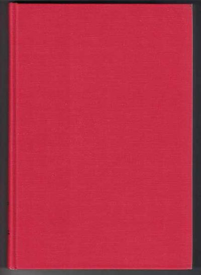 Cambridge, Mass: The Museum of Comparative Zoology, 1973. First edition. Hardcover. Very good. 284pp...