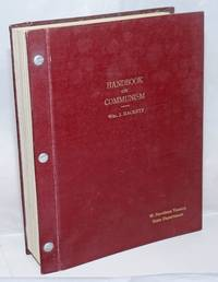 Handbook on Communism [cover title]