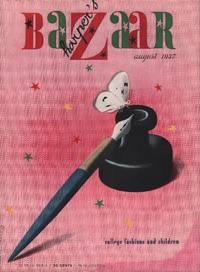 image of Harper's Bazar (Harper's Bazaar) - August, 1937 - Cover Only