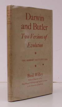 image of Darwin and Butler. Two Versions of Evolution. The Hibbert Lectures 1959. BRIGHT, CLEAN COPY IN UNCLIPPED DUSTWRAPPER