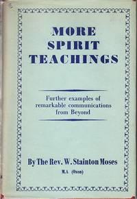 image of More Spirit Teachings Through the Mediumship of William Stainton Moses