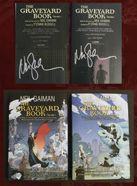 The Graveyard Book Graphic Novel (Two Volumes, BOTH Signed)