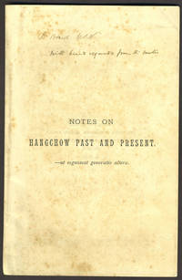 image of Notes on Hangchow Past and Present