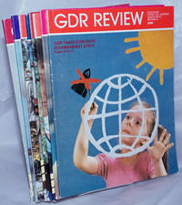 image of GDR Review, 1989, Feb, May, Jun, Jul, Aug, Sep,  Oct, Nov, magazine from the German Democratic Republic 8 issues