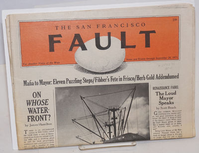 San Francisco: the bi-weekly, 1971. 24p., newsprint with rubricated masthead, folded tabloid style, ...