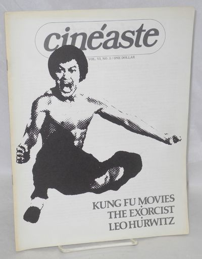 New York: Cineaste Publishers, 1974. 44p., 8.25x10.75 inches, photos, stills, very good film magazin...