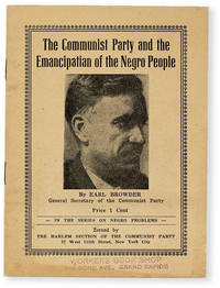 image of The Communist Party and the Emancipation of the Negro People