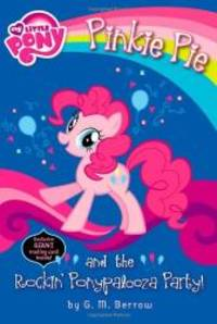 image of My Little Pony: Pinkie Pie and the Rockin' Ponypalooza Party! (My Little Pony Chapter Books)