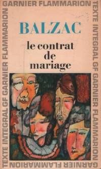image of Le contrat de mariage ( texte integral )