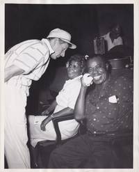 image of Five Pennies (Original photograph of Louis Armstrong, Lucille Wilson, and Danny Kaye on the set of the 1959 film)