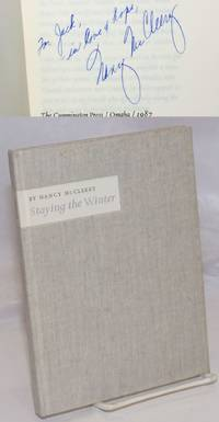 image of Staying the Winter poems [inscribed and signed]