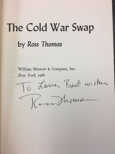 New York: William Morrow & Company, 1966. First Edition, First Printing. Hardcover. Octavo, 222 page...