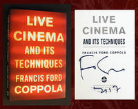 Live Cinema and Its Techniques (Signed in Person, 1st Printing)