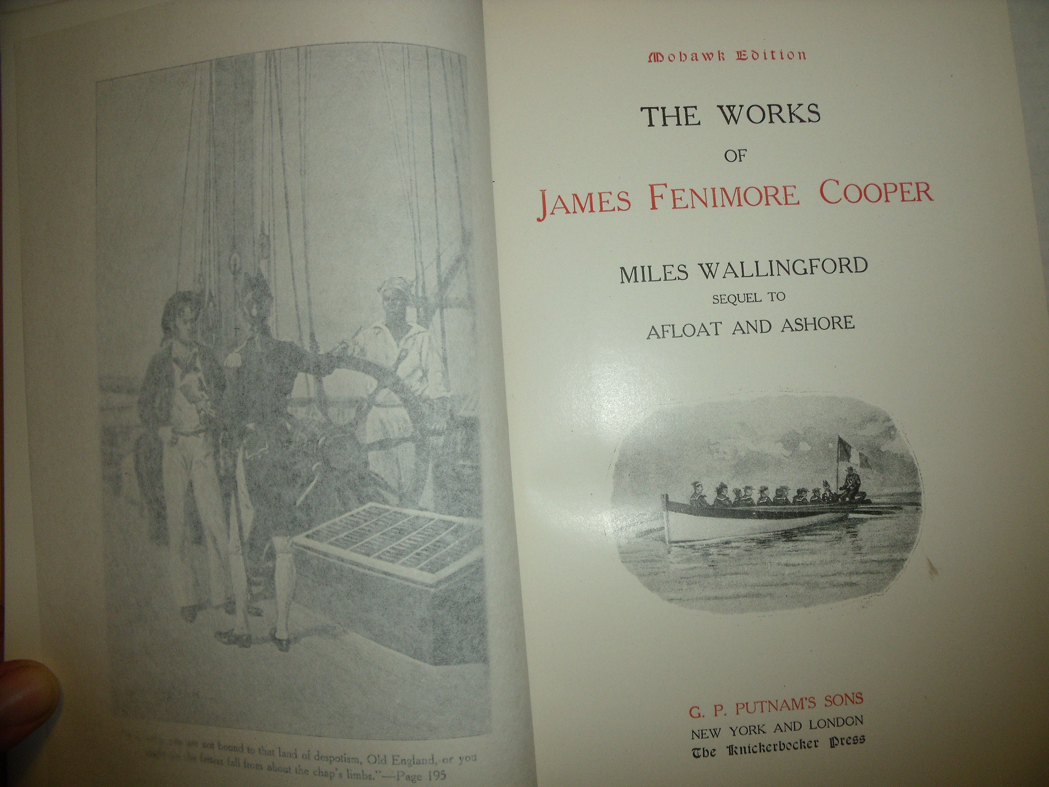 works by james fenimore cooper william James fenimore cooper was one of america's earliest and most famous writers, but was he a great writer in this lesson, explore cooper's unlikely.