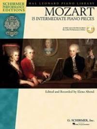 Mozart - 15 Intermediate Piano Pieces (Schirmer Performance Editions)