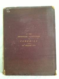 On the Artificial Production of Tubercle in the Lower Animals, Orig 1868 Copy