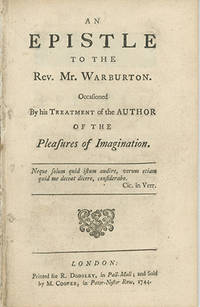 London: Printed for R. Dodsley and Sold by M. Cooper, 1744, 1744. First edition. ESTC T32861. Very g...