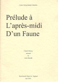 Prelude a L'apres-midi D'un Faune for String Quartet