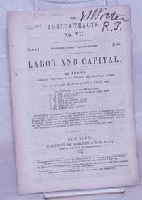 image of Labor and Capital, by Junius [pseud.]