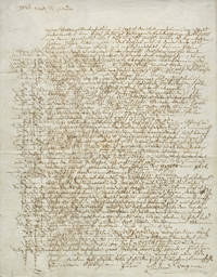 Important lengthy and largely unpublished autograph letter signed in full to the composer's German expatriate friends in Paris Ernst Kietz, Samuel Lehrs, and Gottfried Anders, dated Berlin, April 21, 1842