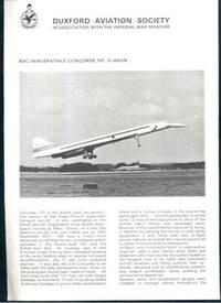 BAC/Aerospatiale Concorde 101 G-AXDN