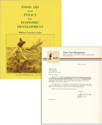 Food Aid and Policy for Economic Development: An Annotated Bibliography and Directory [Review Copy with Typed Letter Signed by the Publisher Laid in]