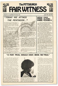 The Pittsburgh Fair Witness - Vol.3, No.9 (June 16-30, 1972)