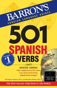 501 Spanish Verbs with CD ROM and Audio CD