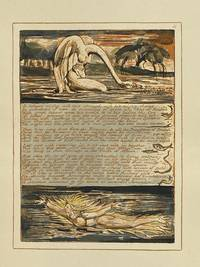 Individual Facsimile Prints from the Trianon Press; Jerusalem, Sterling Copy E, plate 11 by  William Blake - from Archives Fine Books  (SKU: 1189)