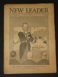 The New Leader Incorporating 'The Labour Leader': September 16th 1927
