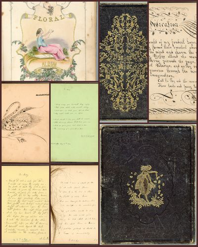 The Floral Album belonging to Mary...