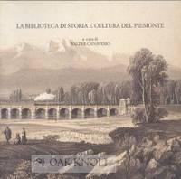 BIBLIOTECA DI STORIA E CULTURA DEL PIEMONTE.|LA