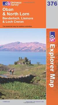 image of Oban and North Lorn (OS Explorer Map Series)