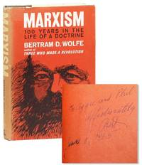 Marxism: 100 Years in the Life of a Doctrine (Inscribed to Phil Jaffe)