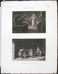Arts et Metiers. 1. Le Vinaigrier. 2. Le Distillateur.