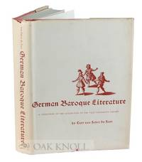 GERMAN BAROQUE LITERATURE, A CATALOGUE OF THE COLLECTION IN THE YALE UNIVERSITY LIBRARY