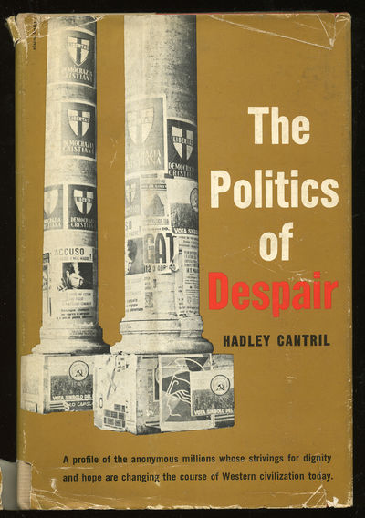 New York: Basic Books, 1958. Hardcover. Fine/Good. First edition. Fine in a very good minus dustwrap...