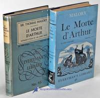 Le Morte d'Arthur: Volumes One and Two (Everyman's Library #45 & 46 in  mis-matched...