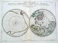 image of Les Deux Poles, Septentrional et Meridional, ou Description des Terres Arcticques et Antarctiques; et des Pays circomvoisins jusques aux 45 Degres de Latitude