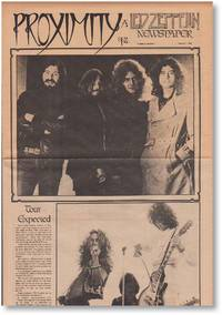 Proximity: A Led Zeppelin Newspaper [run of nine early issues] by LeCompte, Juli & JONES, Hugh (eds.) - 1980-1983